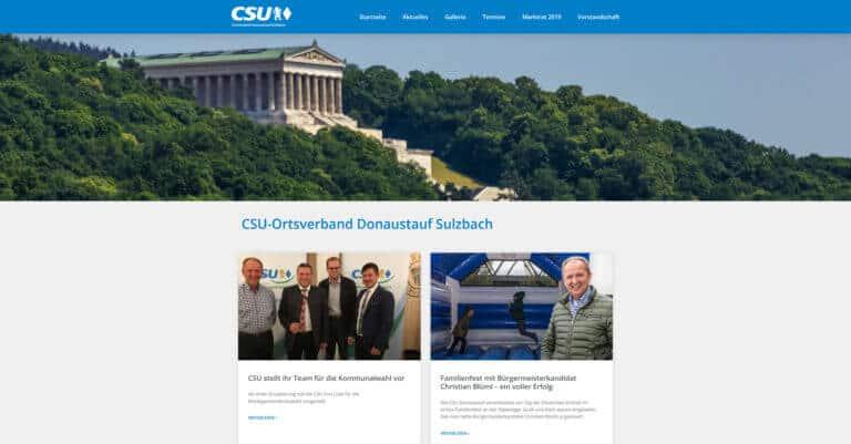 CSU Ortsverband Donaustauf-Sulzbach