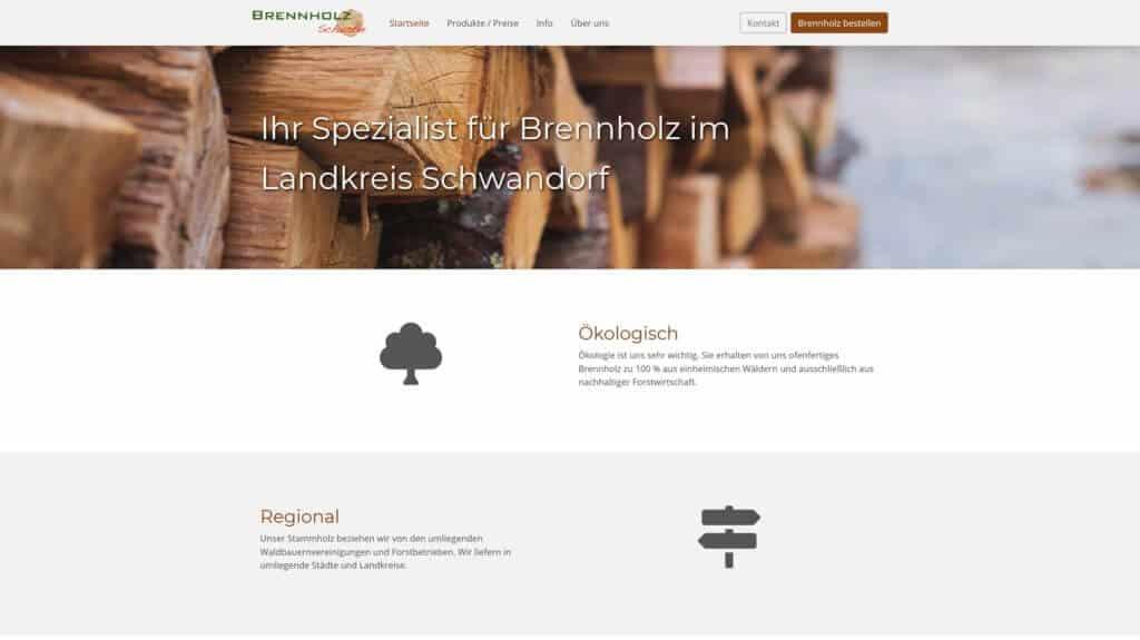 Brennholz Schuster