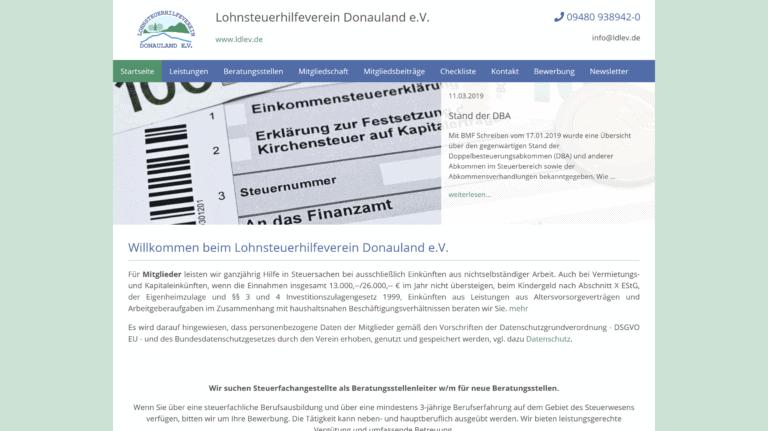 Lohnsteuerhilfeverein Donauland e.V.