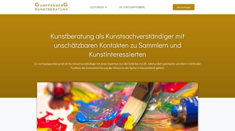 Gumppenberg Kunstberatung