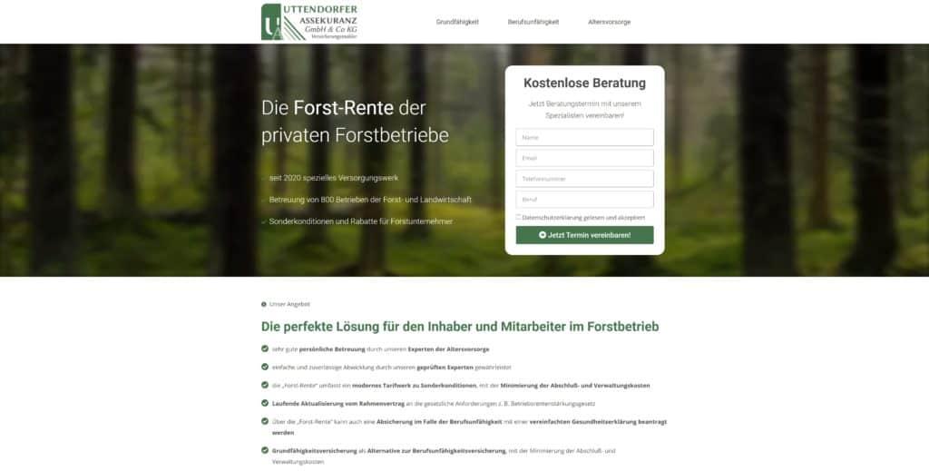 Insurance for forest entrepreneurs